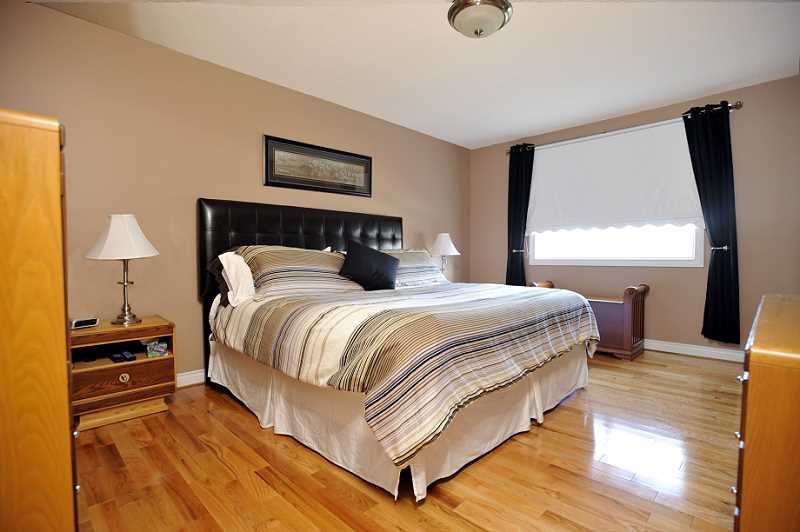 Master Bedroom, Hardwood Flooring