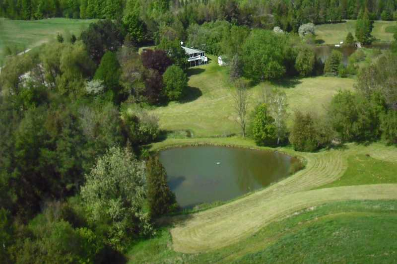 Caledon Private & Serene 5.95 Acres, Pond, Stream & Views