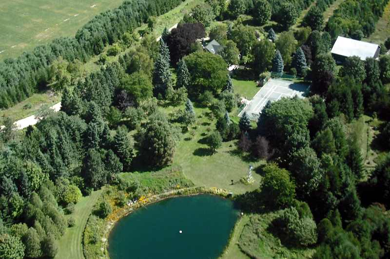 mono, 1905 Victorian, 22.23 Acres, For Sale, pond, tennis court, acreage