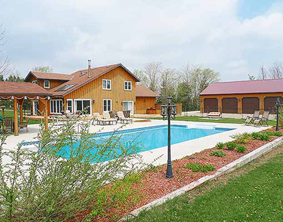 3-Bed on 10 Acres w/ Pool, Pond, HUGE Detached Workshop