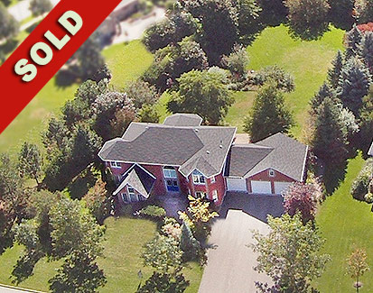 SOLD! Caledon East - 4 Bedroom on Pro-Landscaped 3/4 Acre Lot