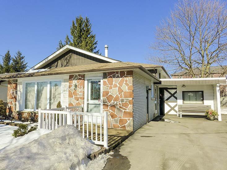 Mclaughlin rd brampton 3 bedroom back split home for sale for Front to back split house