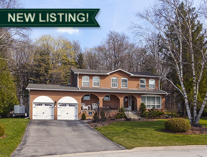 Caledon East 4-Bedroom w/ Pool Backing to Greenspace & Trails