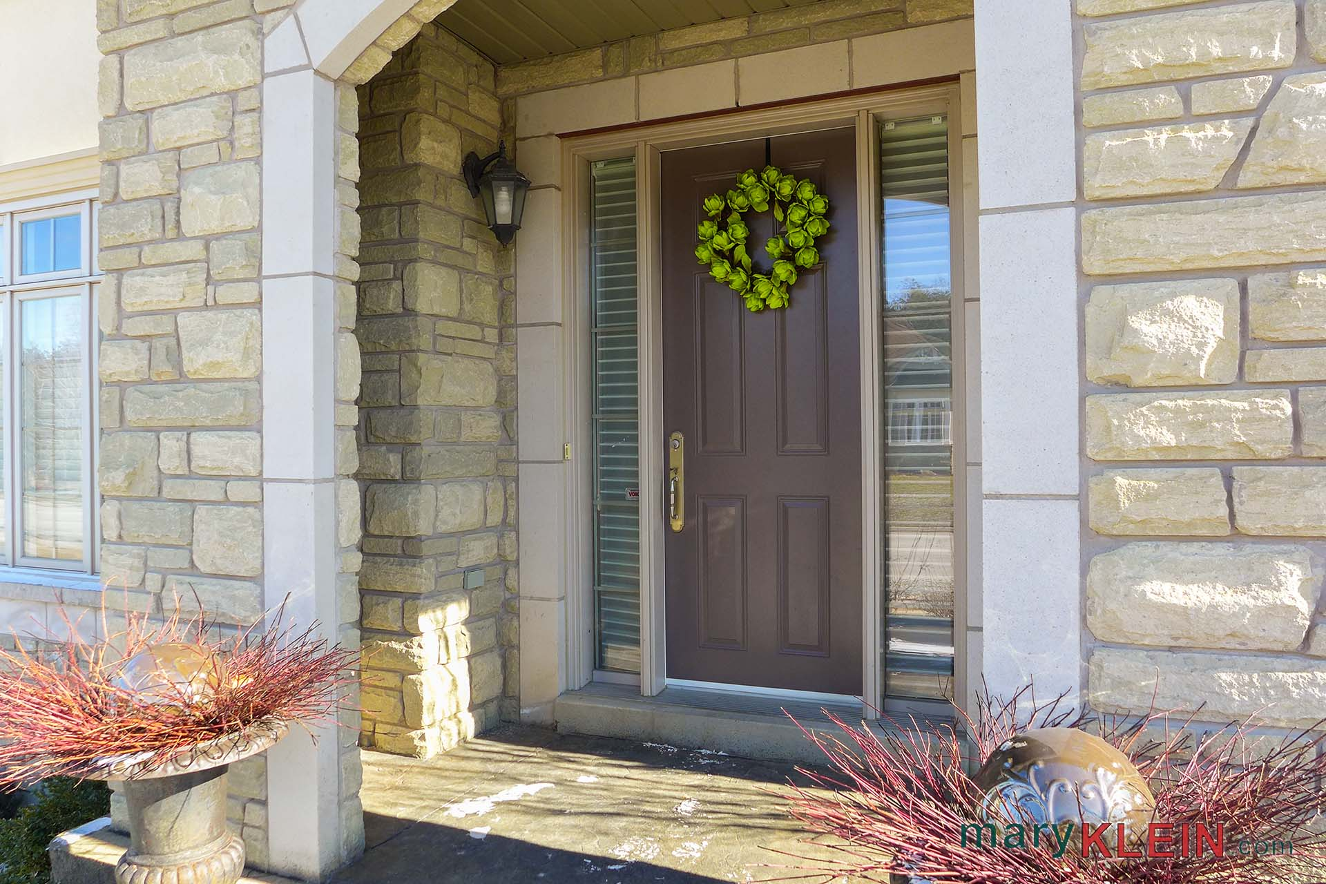 Stone Front Entry
