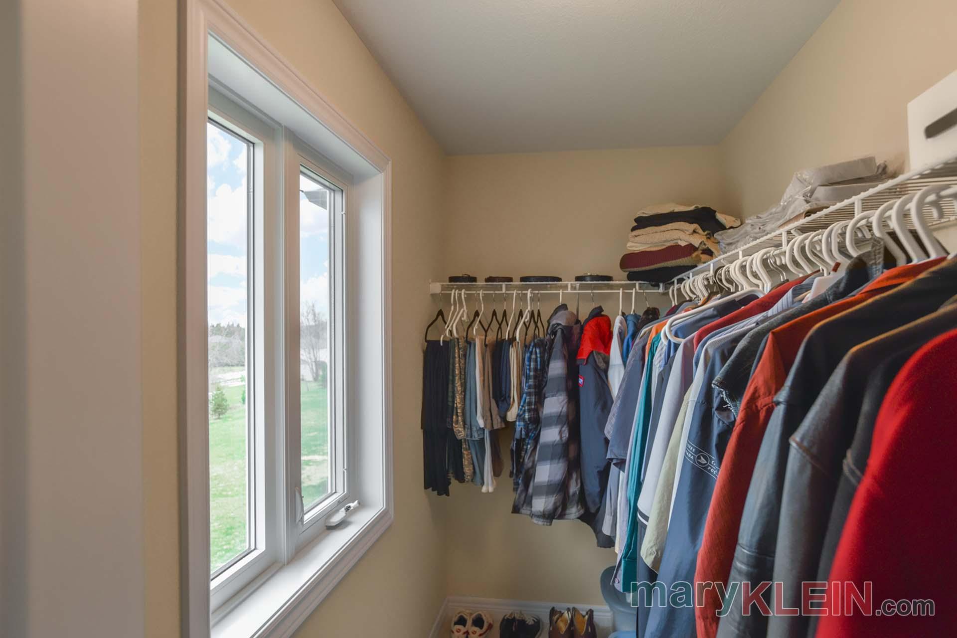 Walk-In Closet, Window