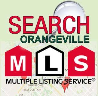 Search MLS properties in Orangeville, MLS listings in Orangeville