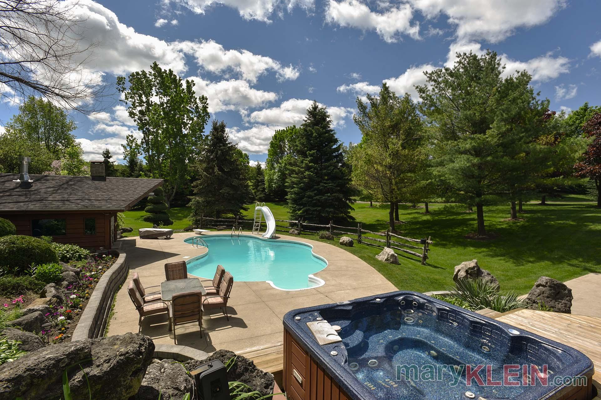 Backyard, 10 Acres, For Sale, Caledon