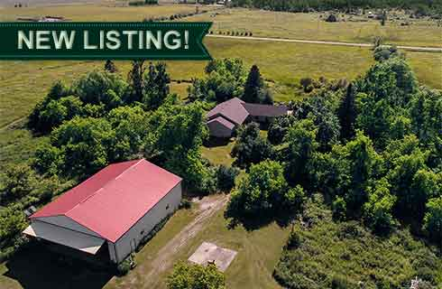 Calling All Pilots! 39 Acres w/ Hanger, Airstrip & Bungalow