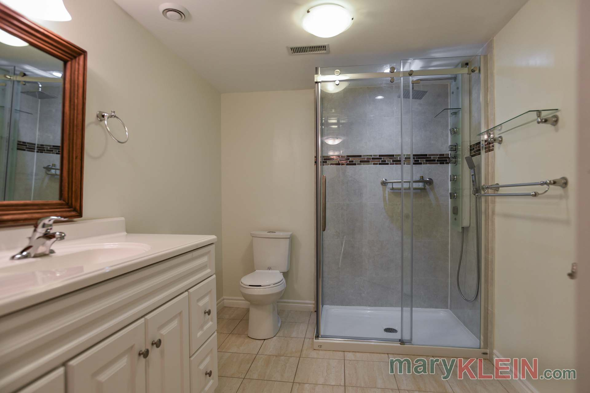 Lower Level 3 Piece Bathroom