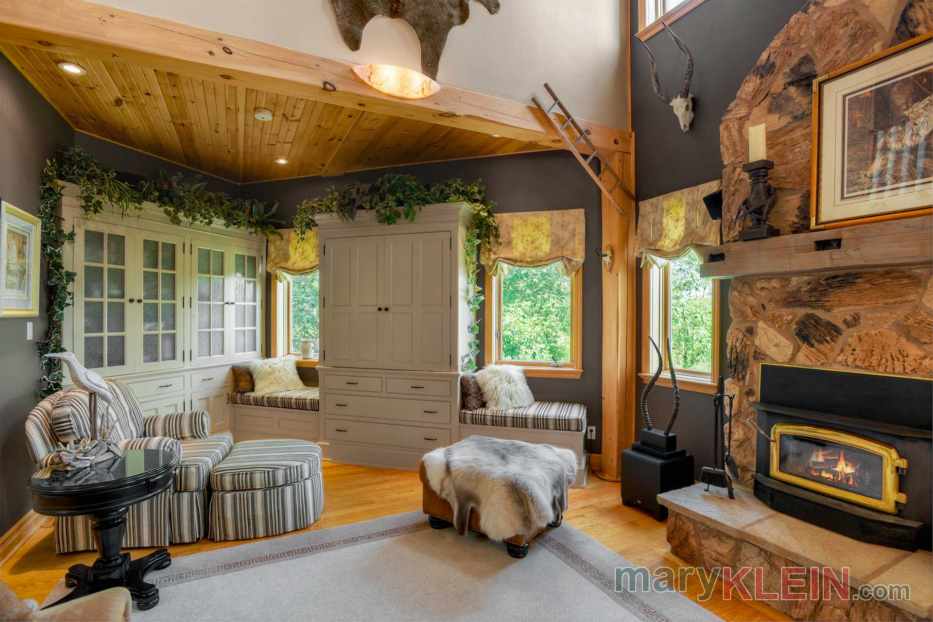 Great Room Built In Cabinetry