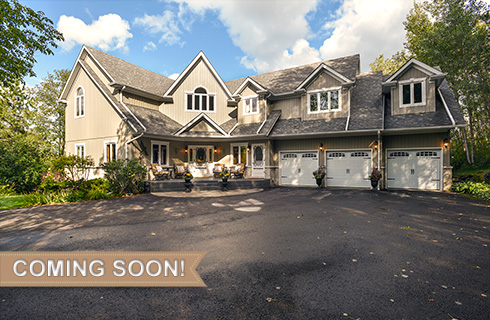 Caledon Post & Beam on 25 Acres w/ In-Law Suite