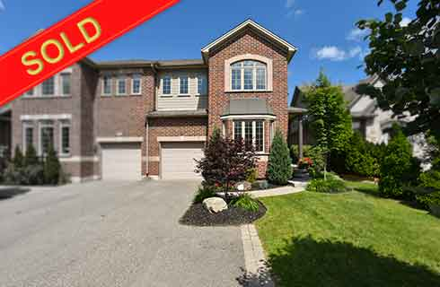 Caledon East 3-Bedroom Semi-Detached Backing to Green Space