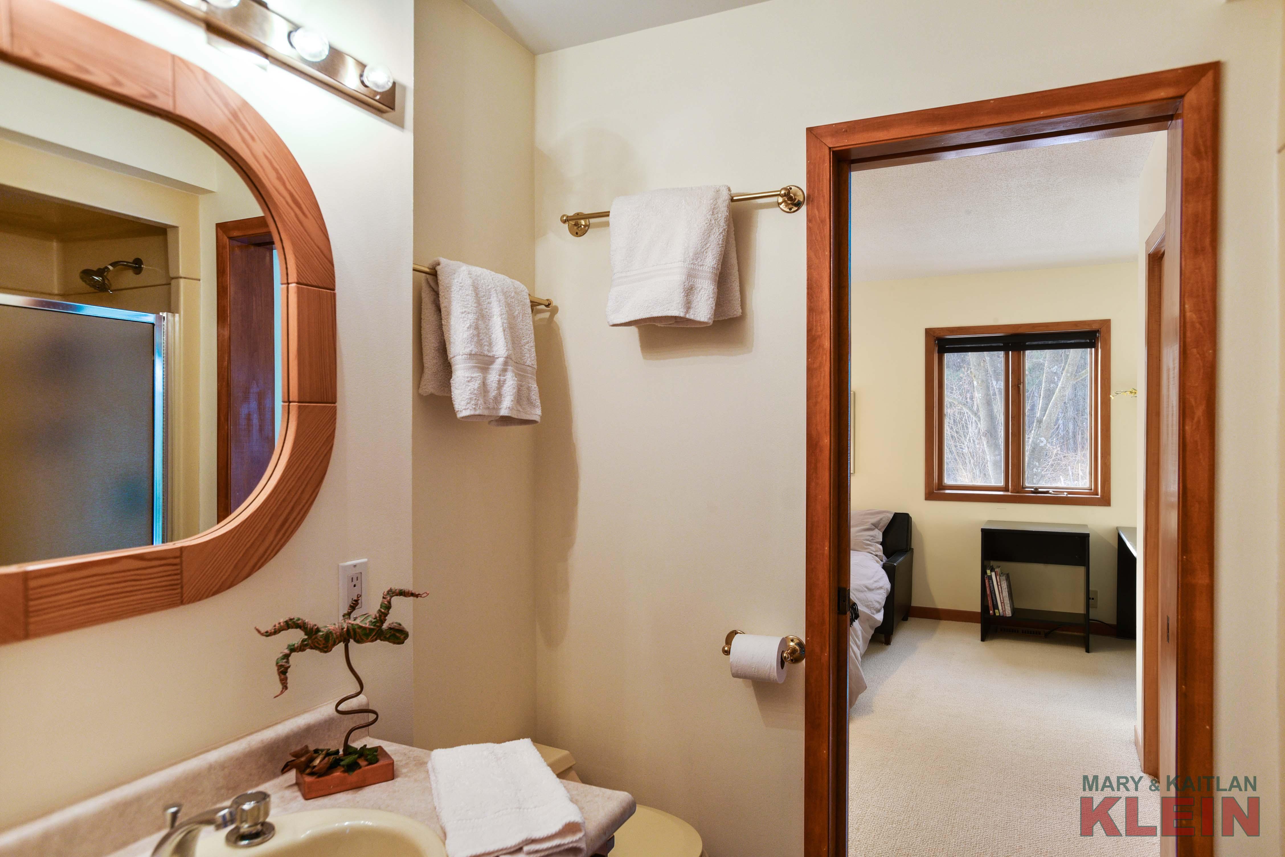 3 piece main floor bathroom