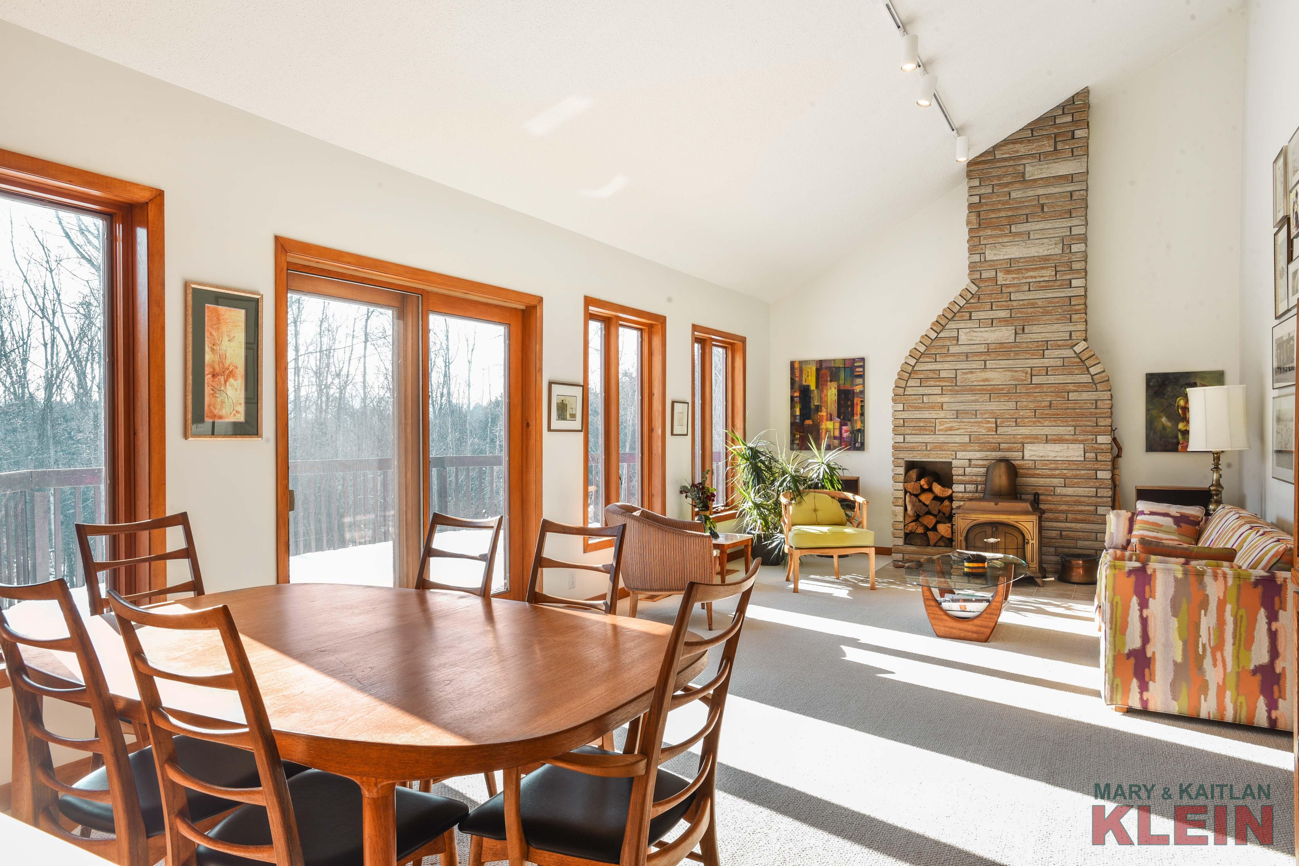 contemporary, open concept design, Caledon home for sale