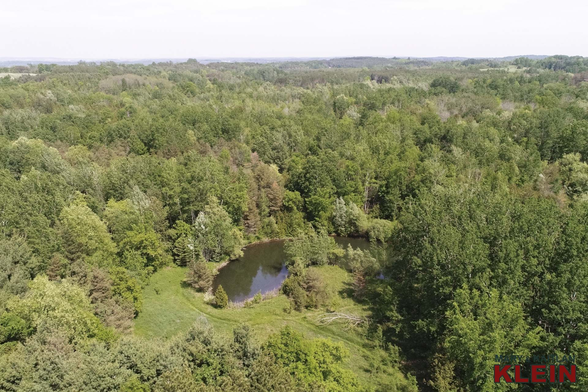 Aerial, 25 Acres for Sale, Mary Klein and Kaitlan Klein