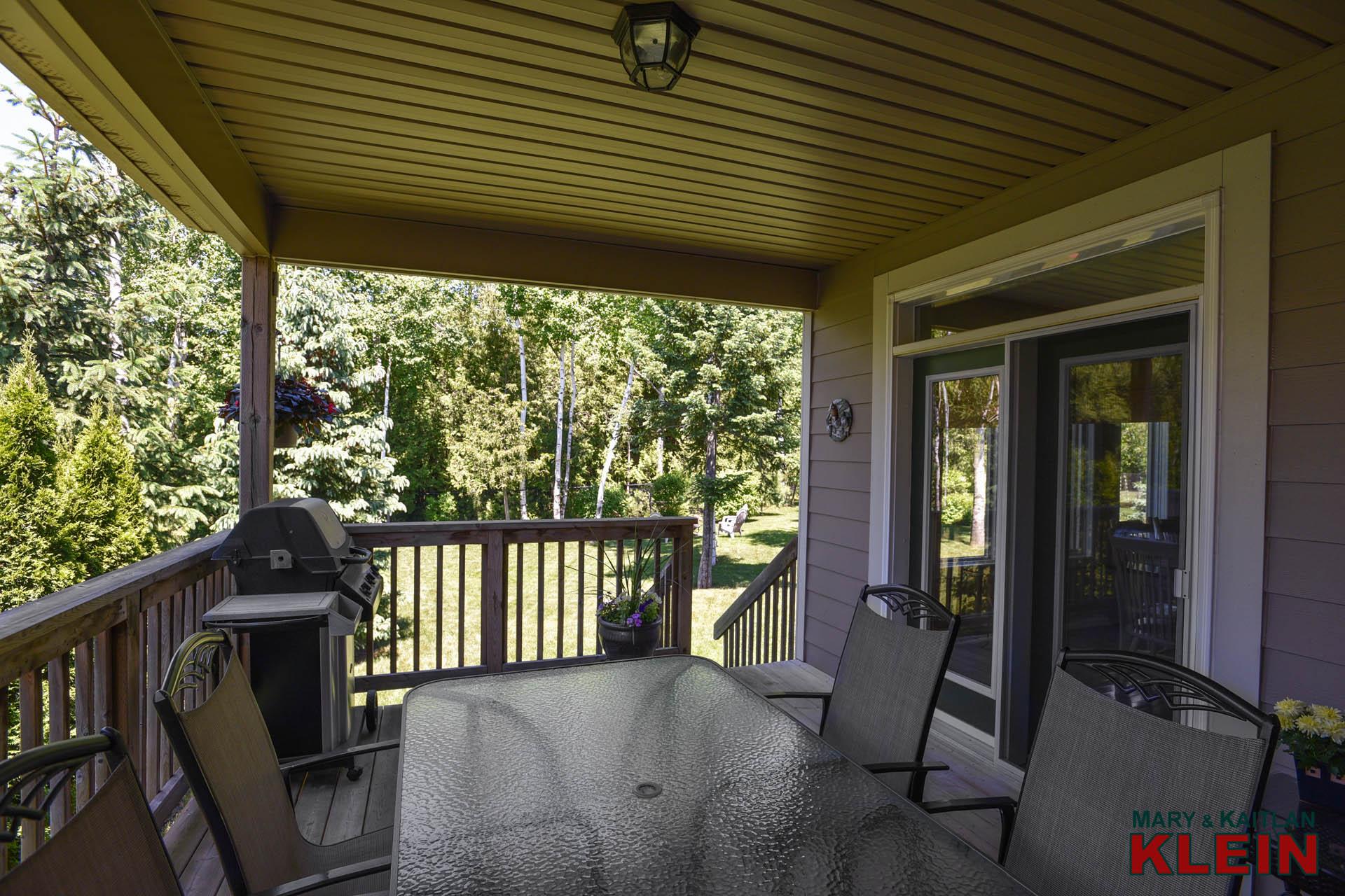 Garden Door to Side Deck