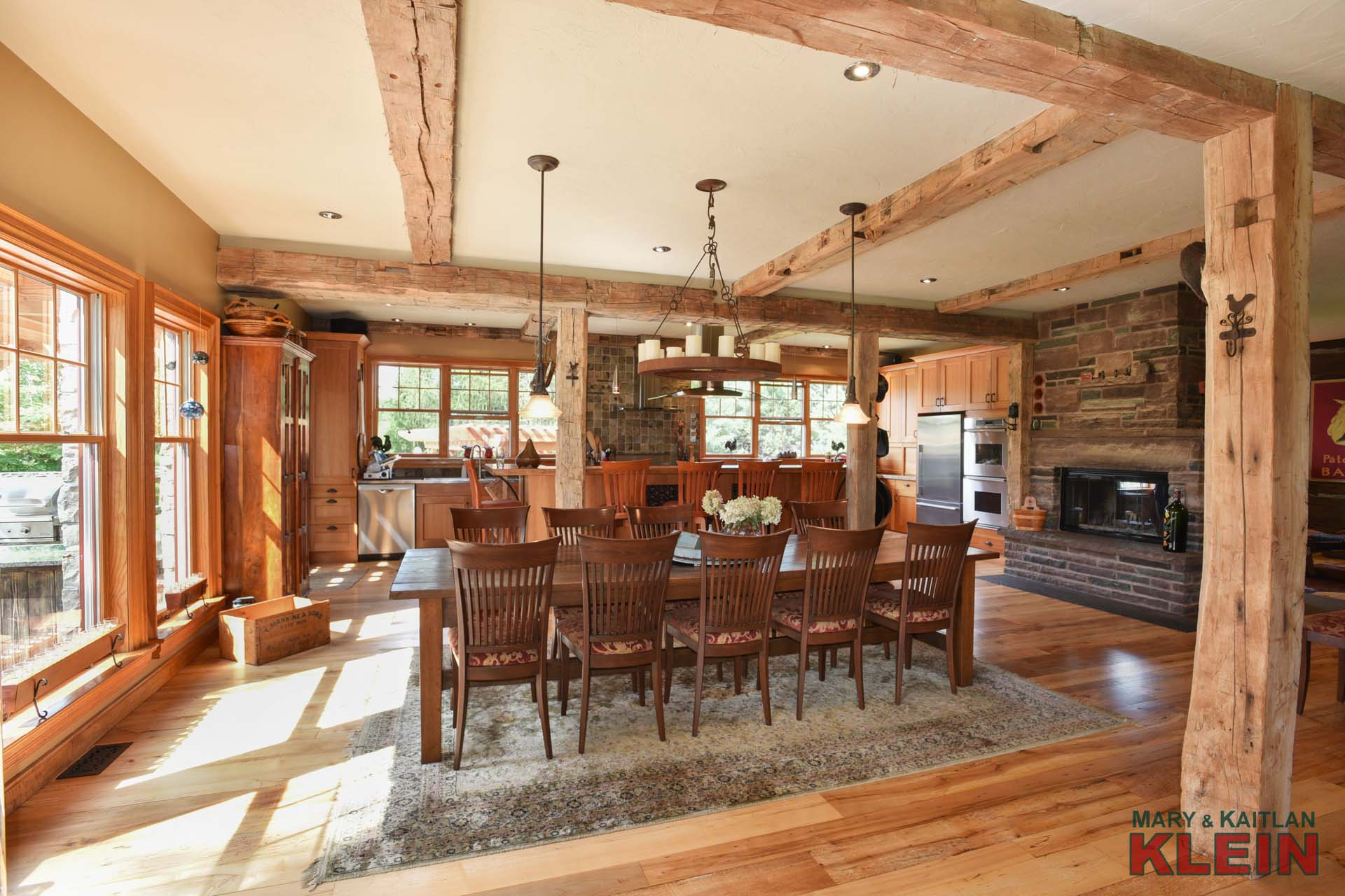 Stunning Rustic Living Space
