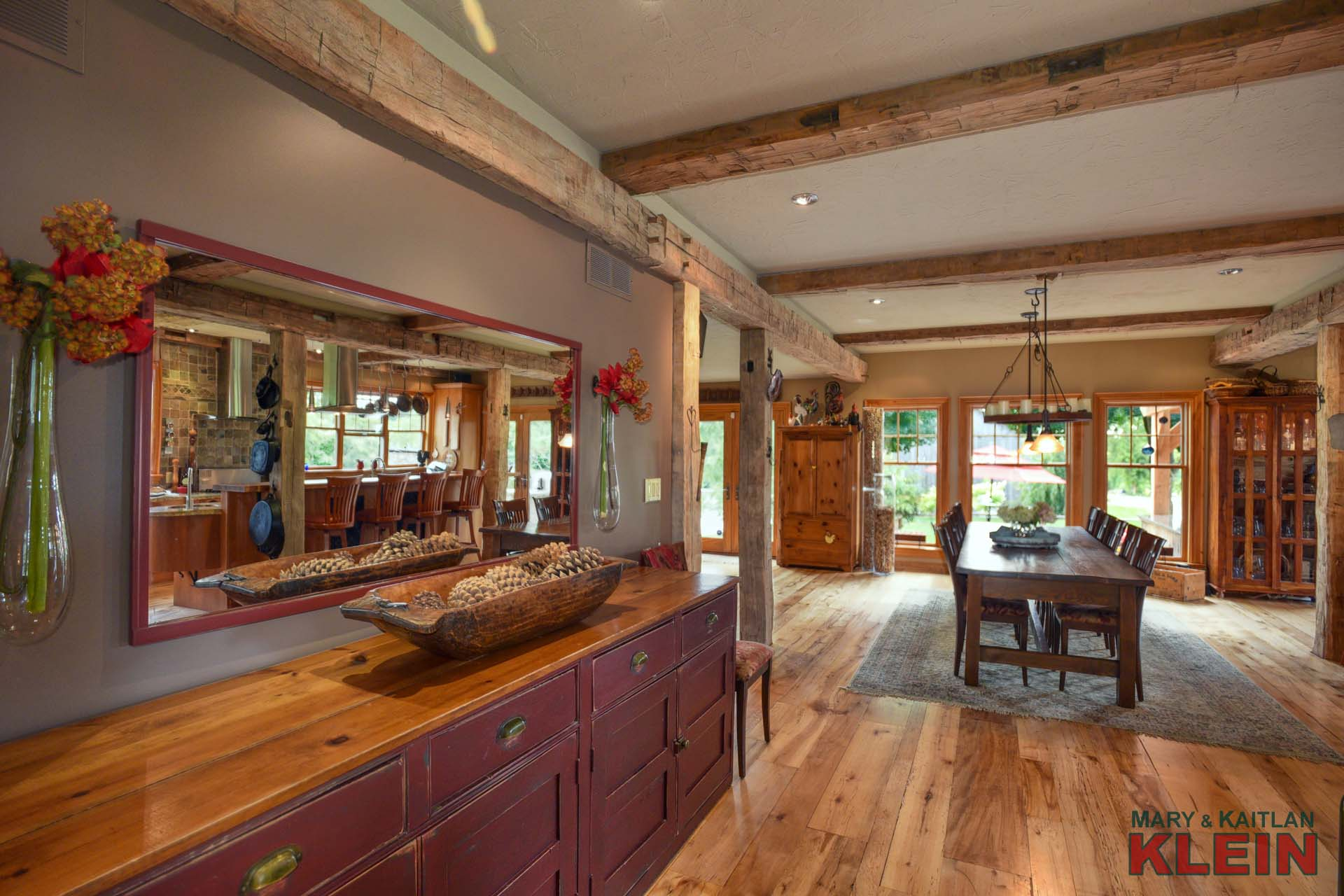 Rustic Wooden Beams