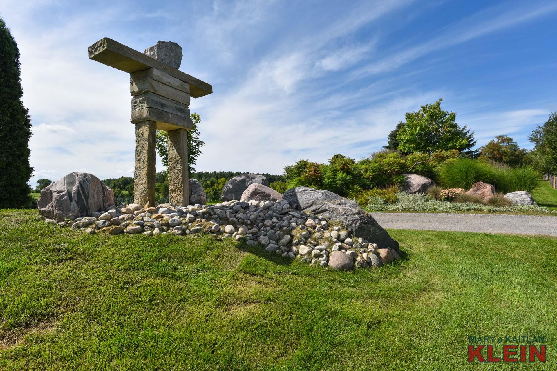 stone Inukshuk, caledon, ontario