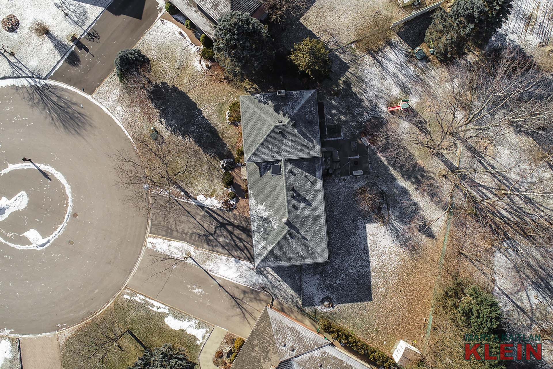 Aerial View, 12 McLeod Court, Caledon East