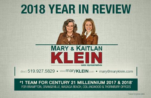Caledon, Erin & Orangeville Real Estate Agent: Mary Klein