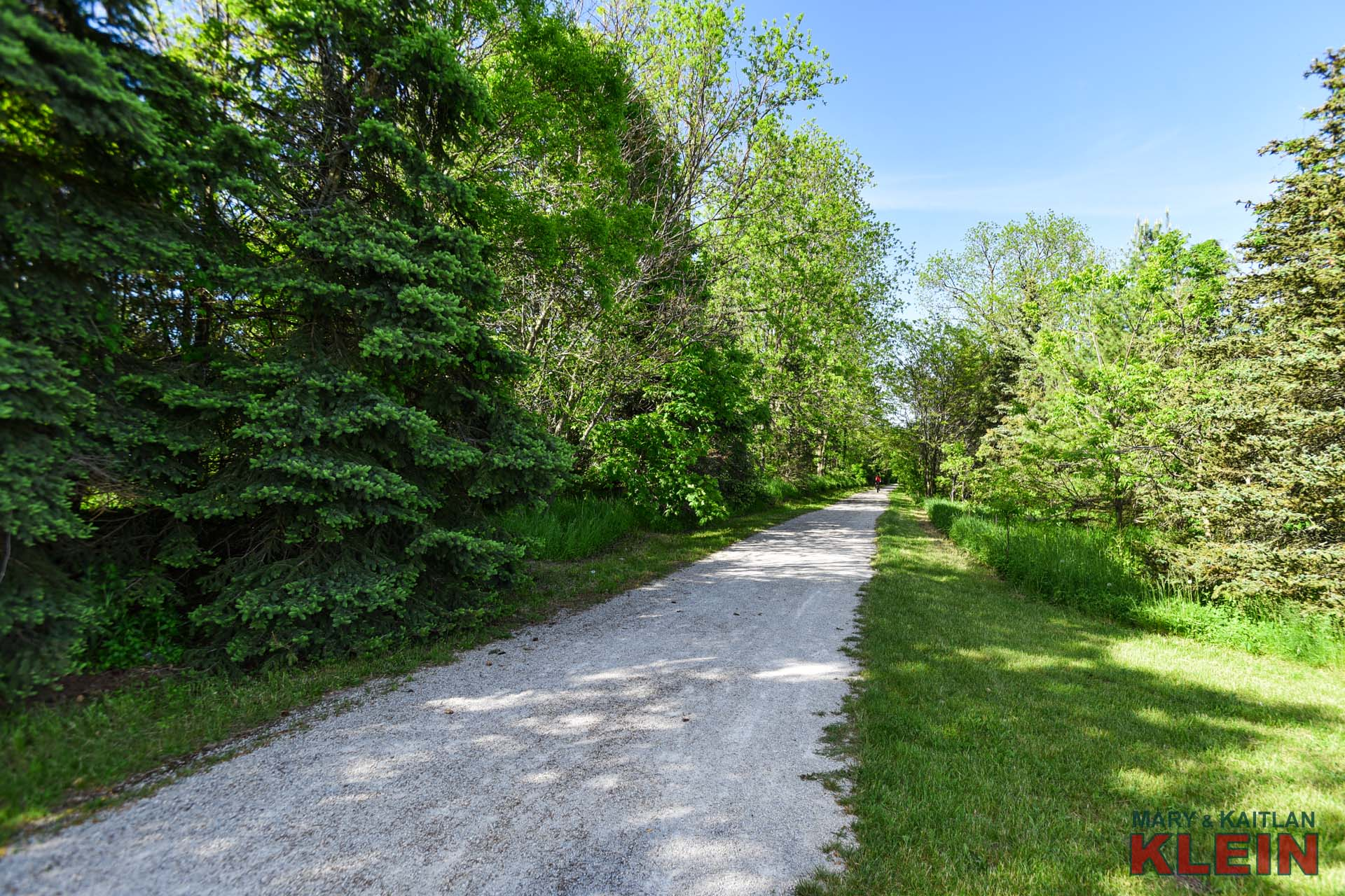 Backing to the Caledon Trailway