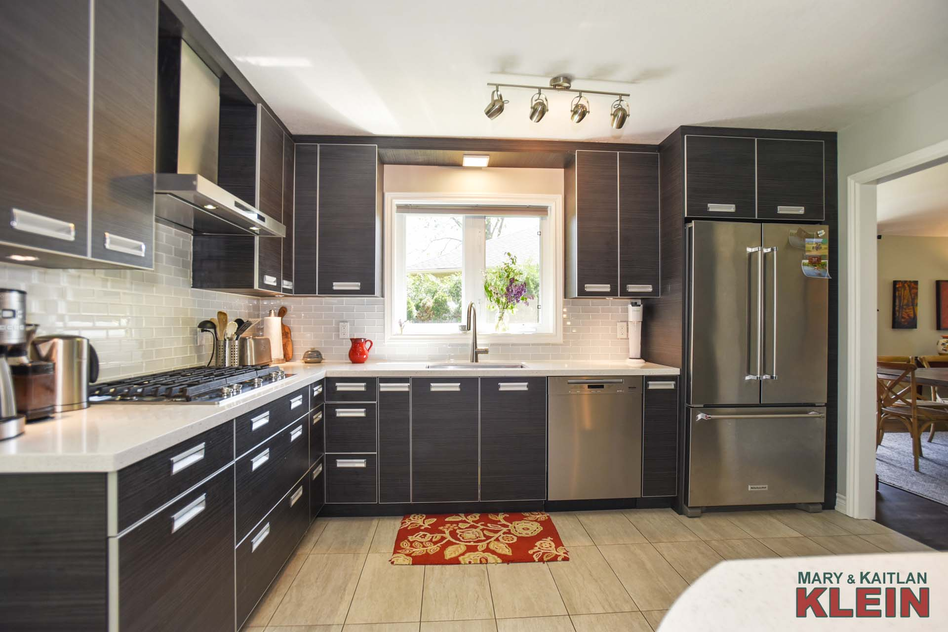 Kitchen, renovated, updated