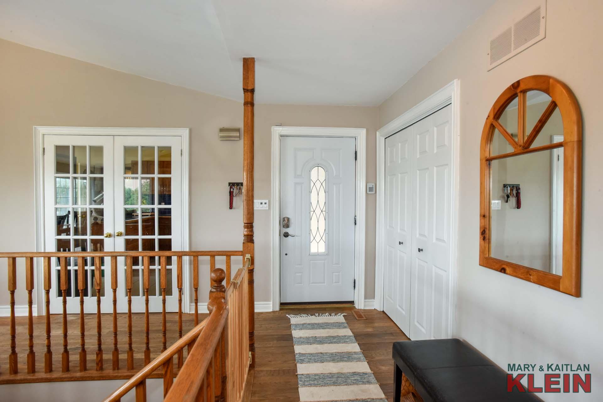 Foyer - Hardwood, Double Closet