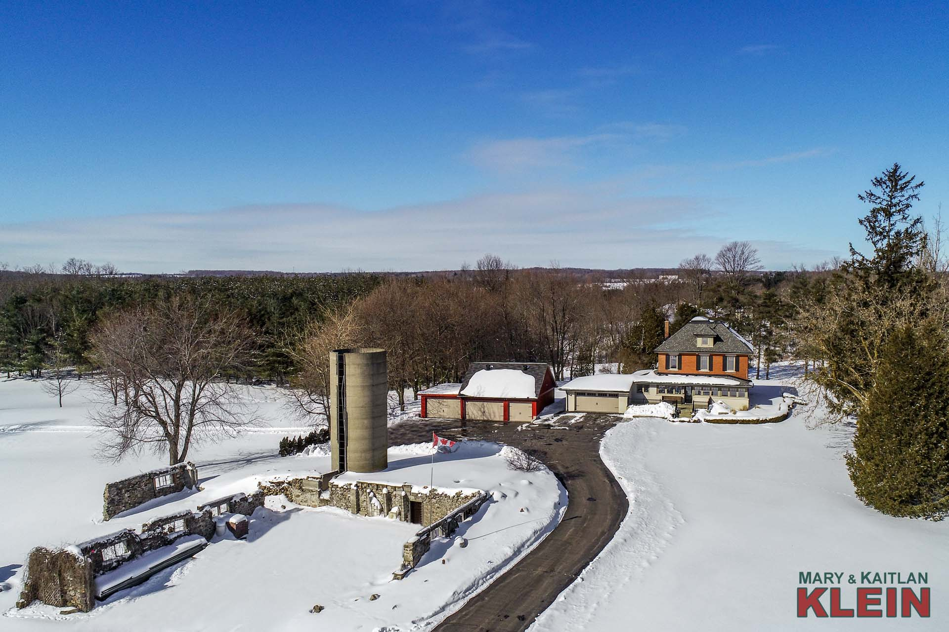 5 Bedroom home for Sale on 30 Acres in Caledon, KLEIN
