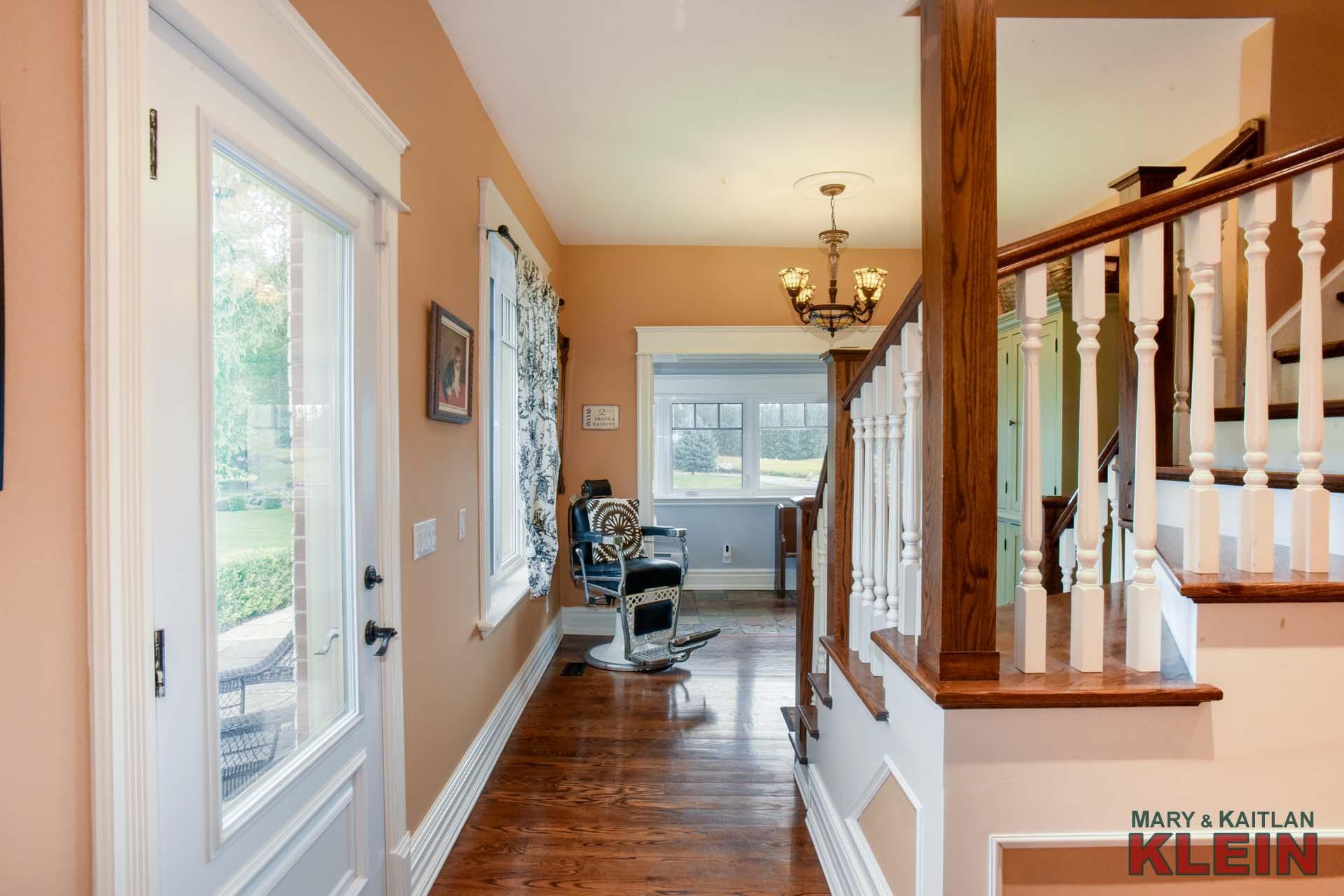 Original Front Door to the Home