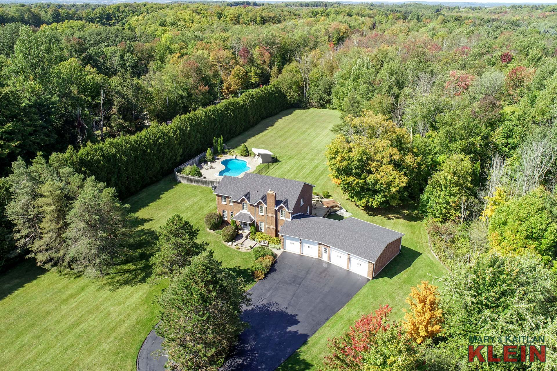 4 Bedroom home for sale in Caledon on 3.57 Acres, Klein