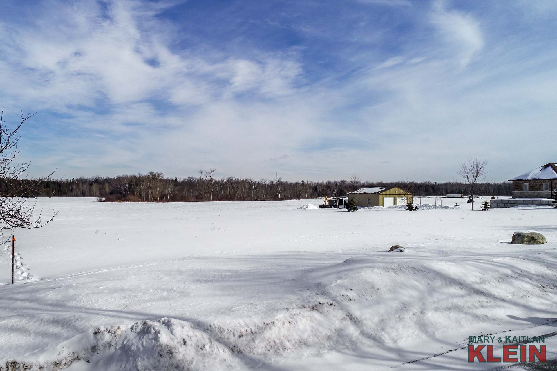 Vacant Lot for Sale in Caledon, Near Orangeville, Paved Road Access
