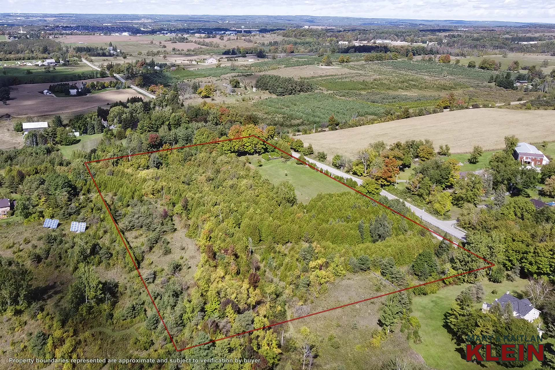 10 Acres with Mature Setting