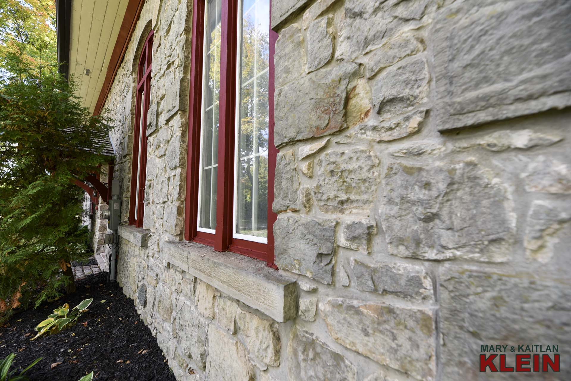 Stone Exterior, Rosehill Schoolhouse, Caledon