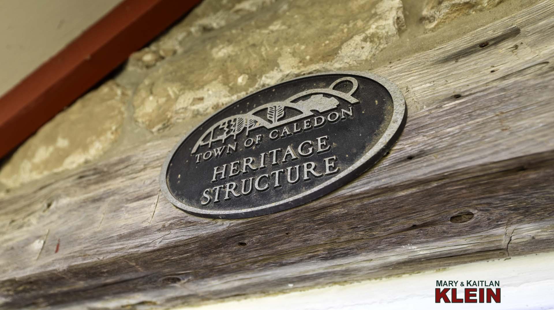 Historical Caledon Heritage Rosehill Schoolhouse Circa 1872