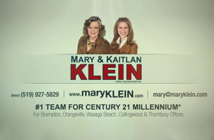 Mary Klein & Kaitlan Klein Real Estate Team Caledon, Orangeville